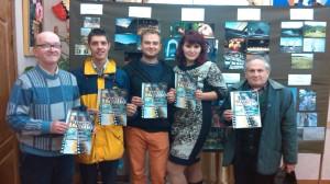Зліва направо: Леонід Западенко, Денис Качуровський, Славко Нагнибіда, Ольга Нікітіна, Олександр Хенвін